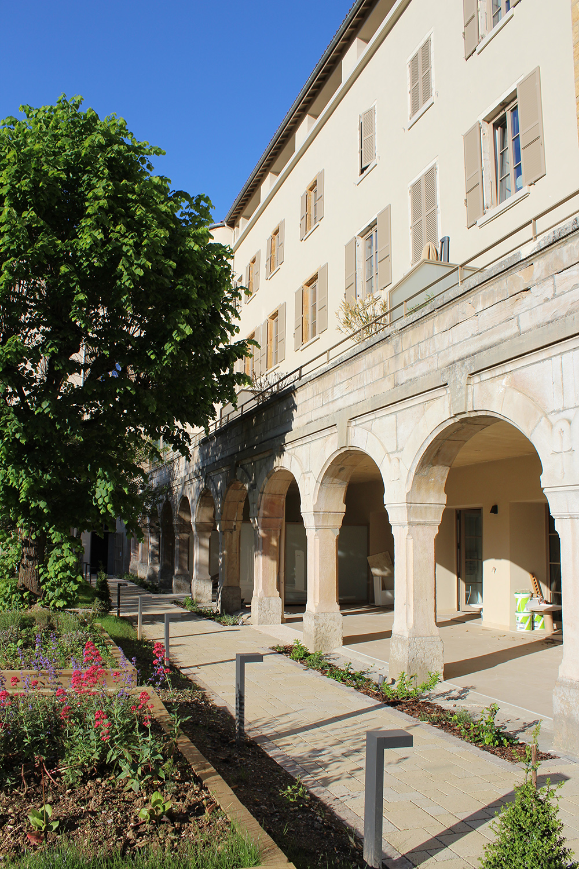 L'Abbaye de la Rochette, rénovation à Caluire-et-Cuire