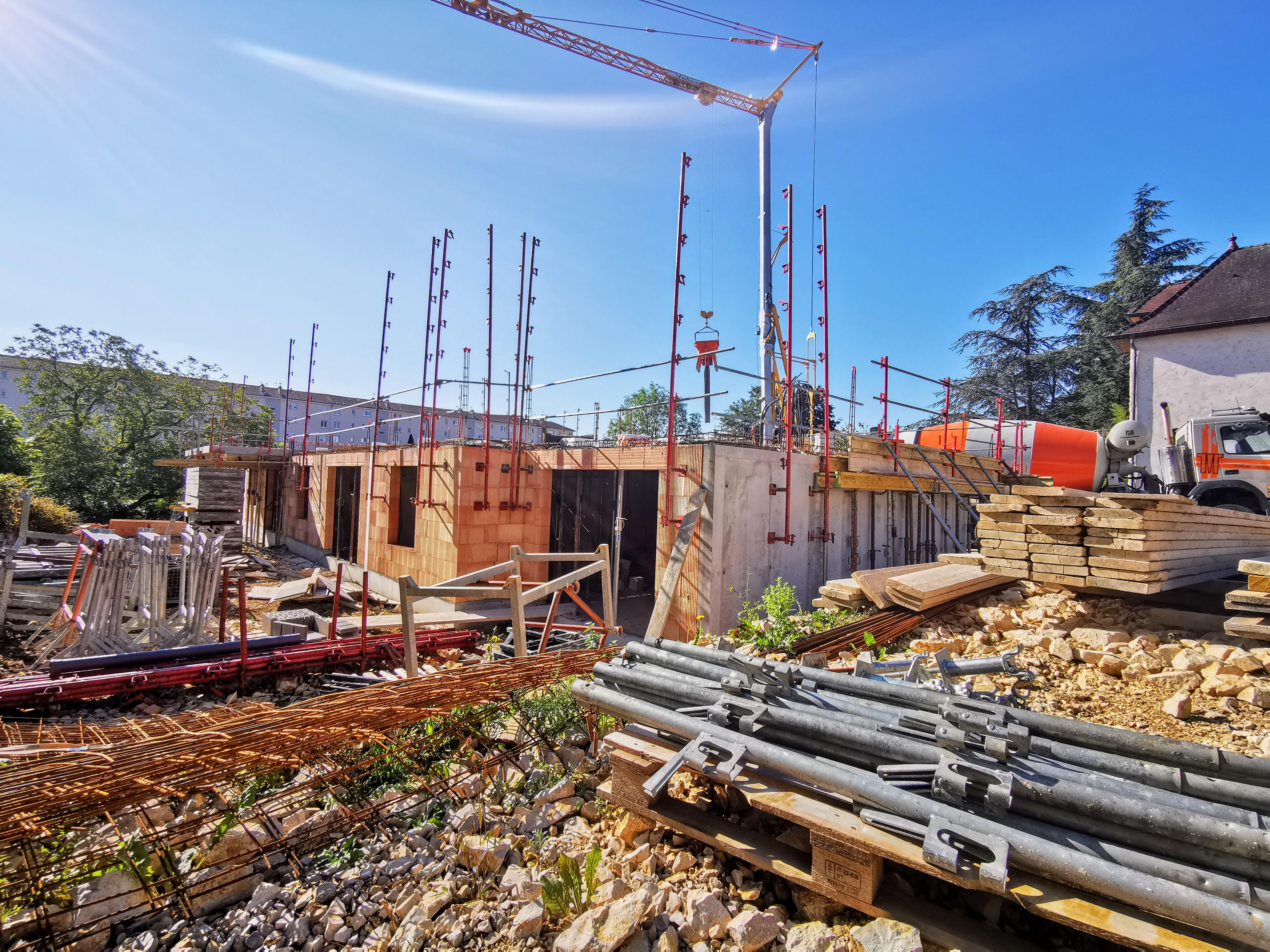 Le chantier Au Verger Partagé à Besançon