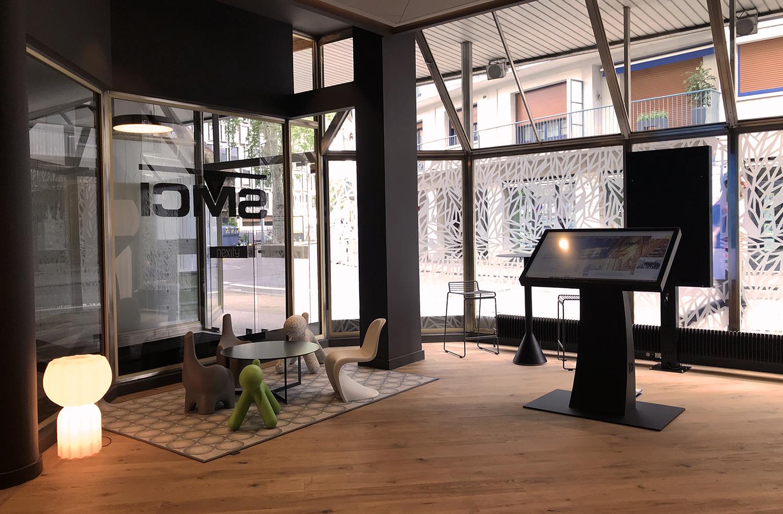 Espace accueil client à Besançon