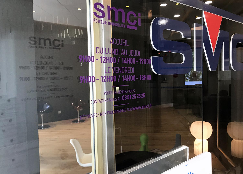 Horaires d'ouverture SMCI Editeur immobilier Besançon