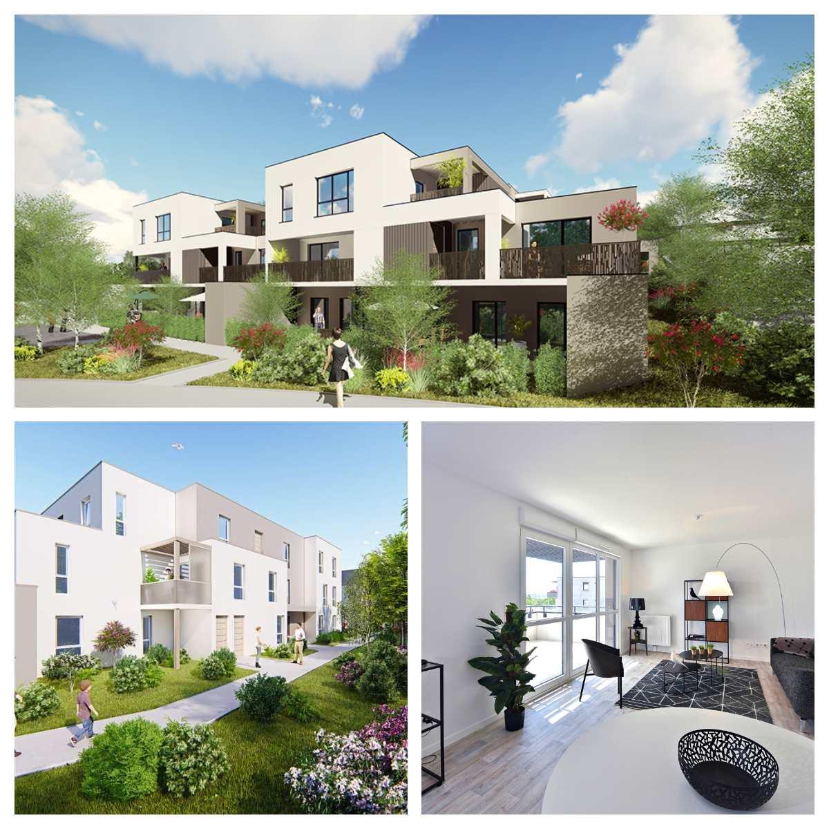 Appartement neuf Besançon Tilleroyes