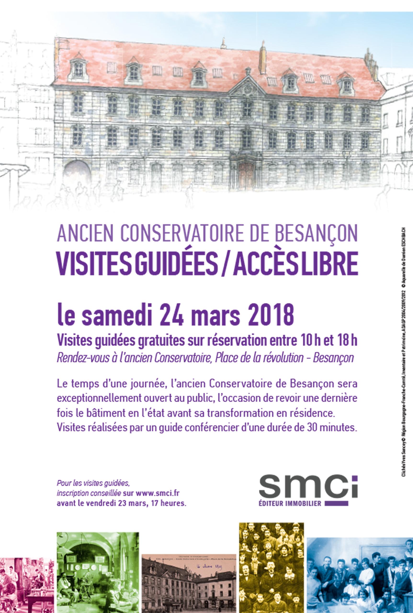 Portes Ouvertes Ancien Conservatoire samedi 24 mars