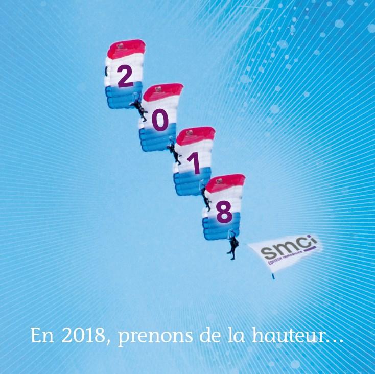 SMCI vous souhaite une belle année 2018