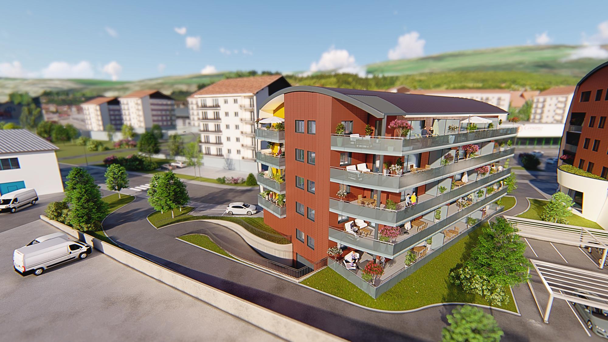Appartement neuf à Morteau - Haut-Doubs