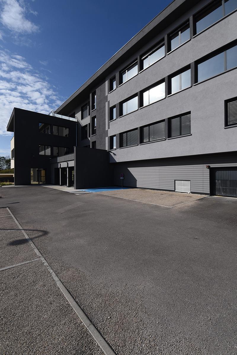 Le Boréal immeuble bureaux locaux neuf Besançon