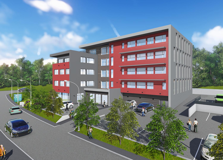 Le Boréal immobilier pro bureaux Besançon