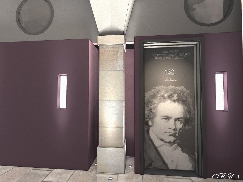 Rénovation de l'ancien Conservatoire de Besançon