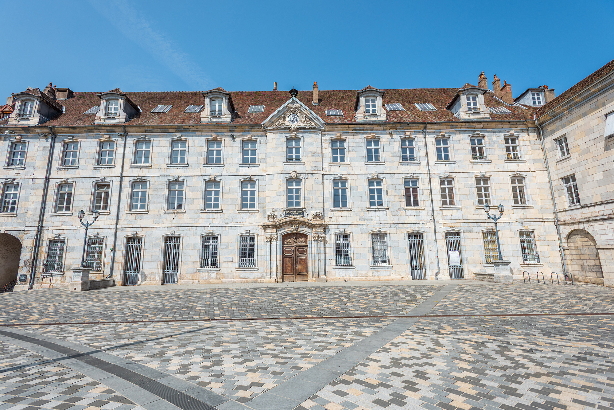 L'ancien Conservatoire de Besançon