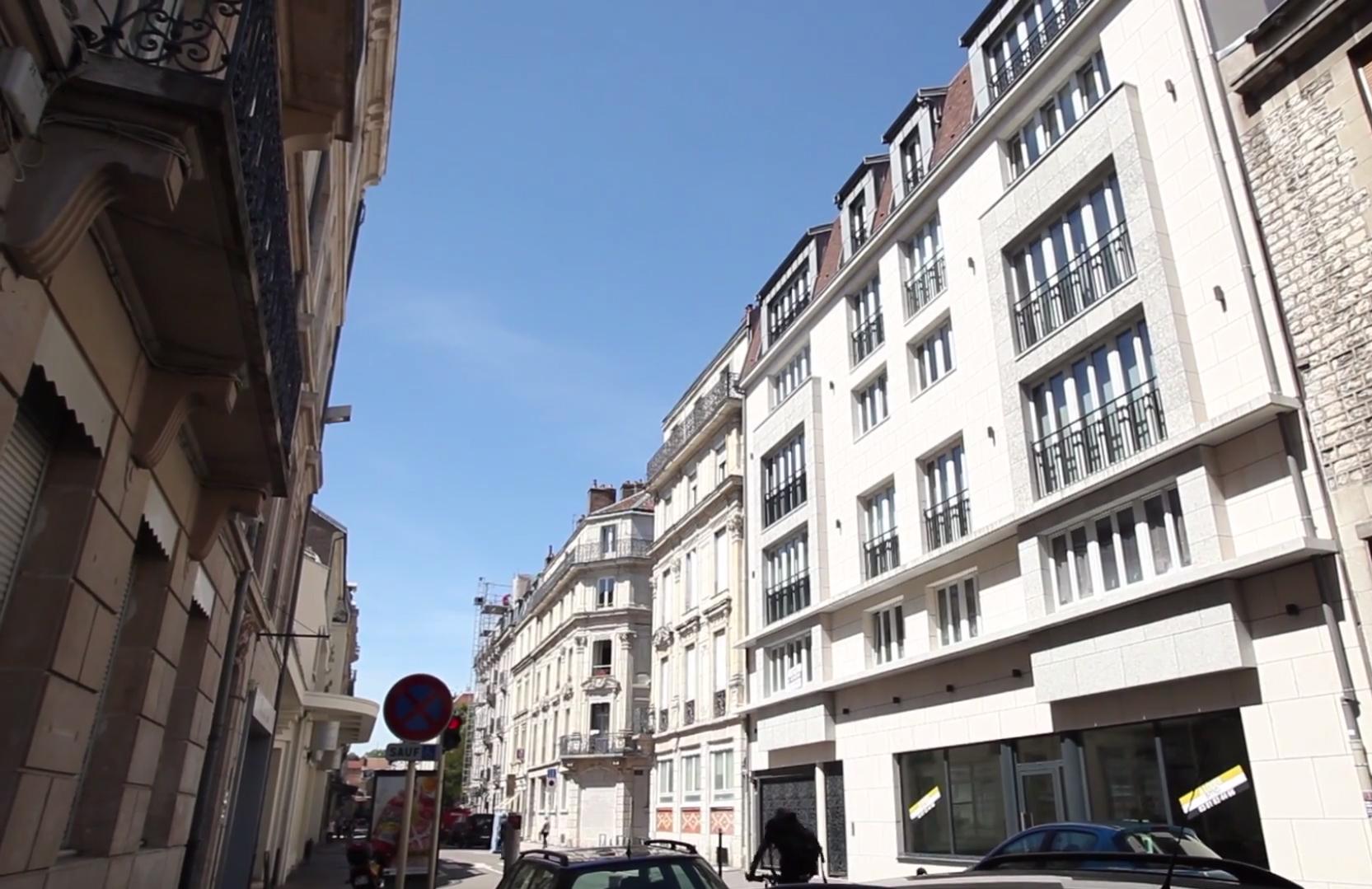 Le Cours Saint-Amour à Besançon
