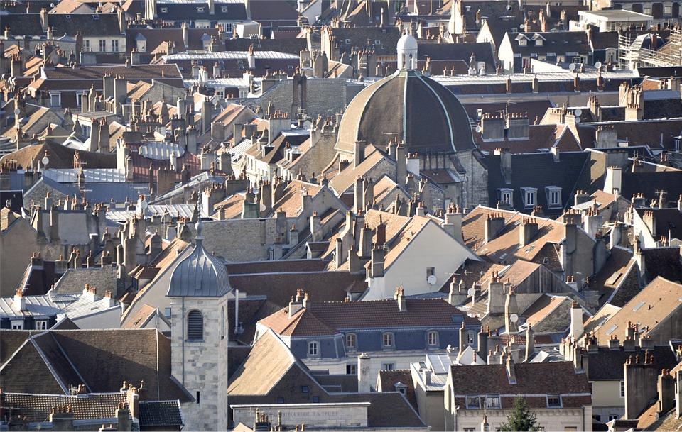 Quartier du centre-ville de Besançon
