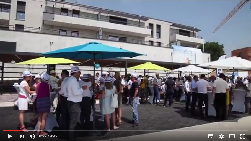 Vidéo Inauguration du Quartier O2