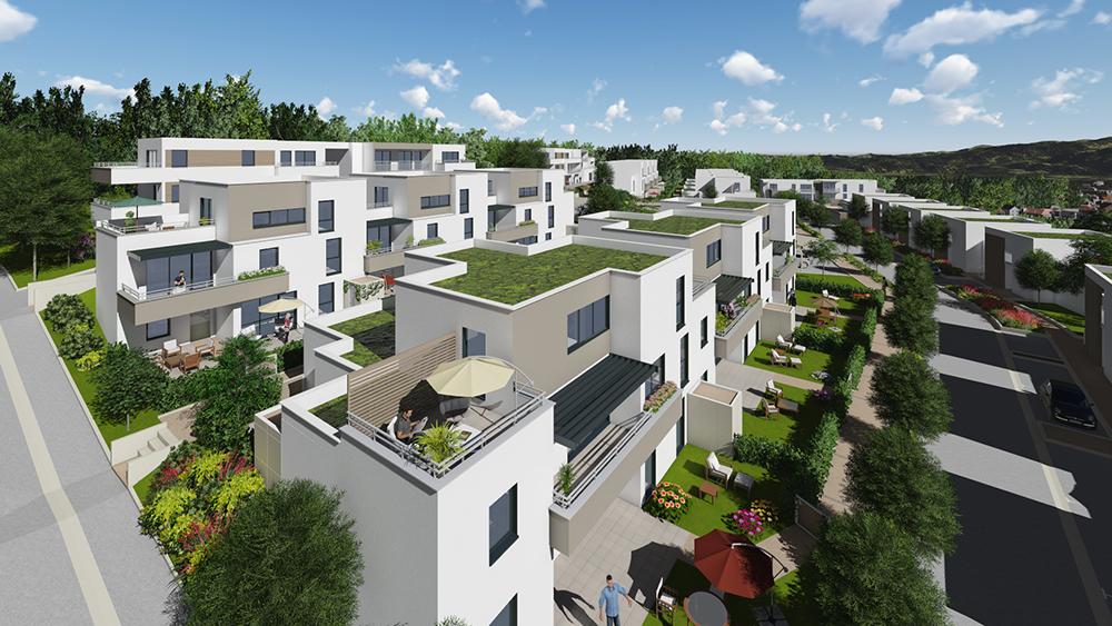 Quartier O2 programme immobilier à Besançon
