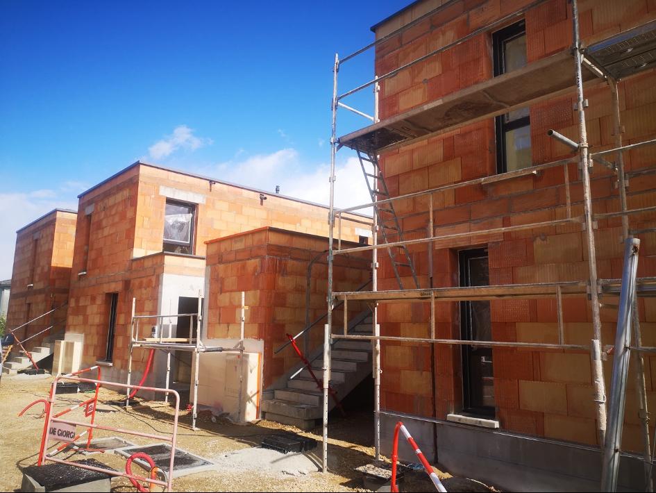 Les travaux continuent à O2 tranche 4 ! Appartements neufs à vendre à Besançon