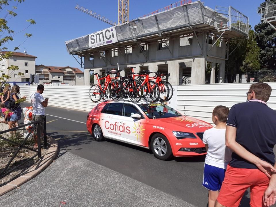 Tour de France à Genas