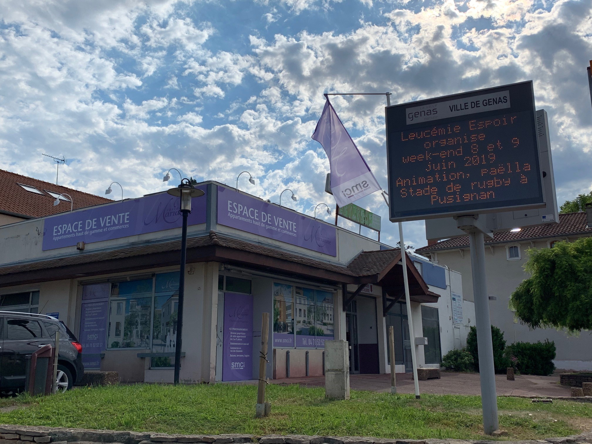 Espace de vente résidence Marianne à Genas