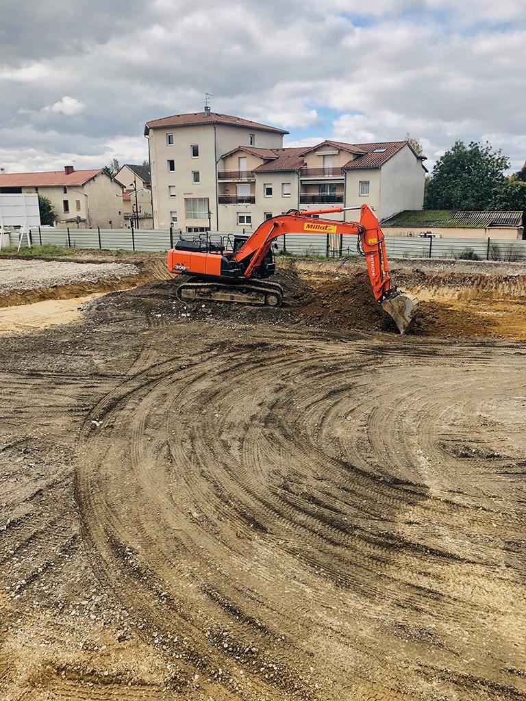 Démarrage des travaux de la résidence Marianne à Genas !