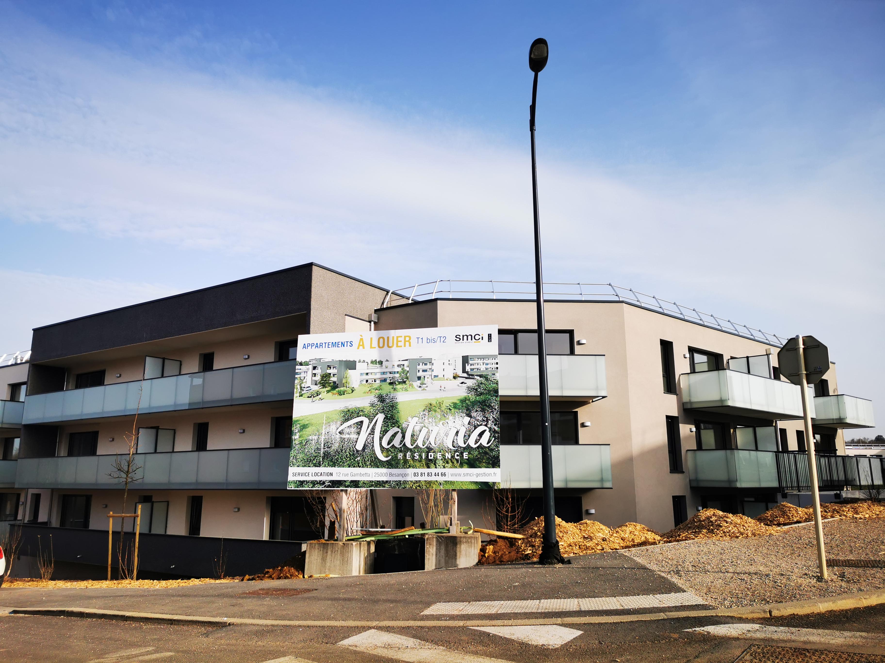 Résidence Naturia aux Hauts-du-Chazal à Besançon