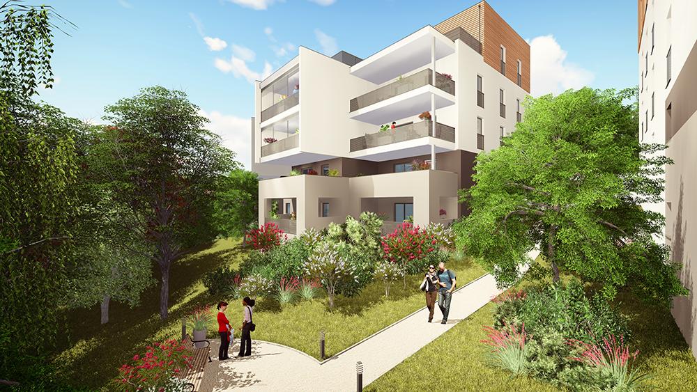 Résidence Oh Saint-Rambert : achat appartement neuf à lyon 9ème