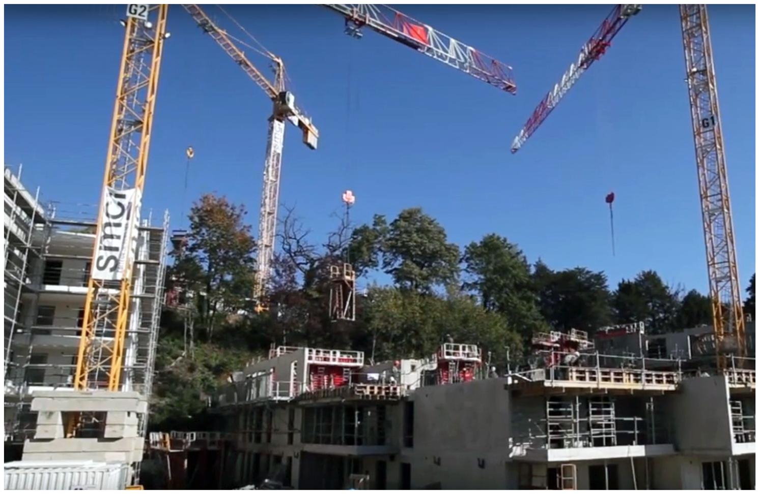 Travaux de construction Lyon 9 résidence Oh Saint-Rambert