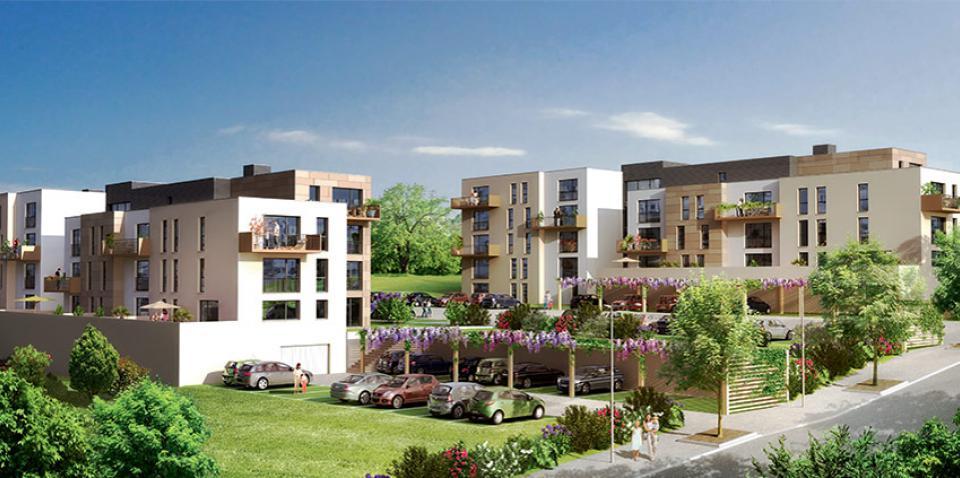 Appartement neuf pour investissement locatif à Besançon