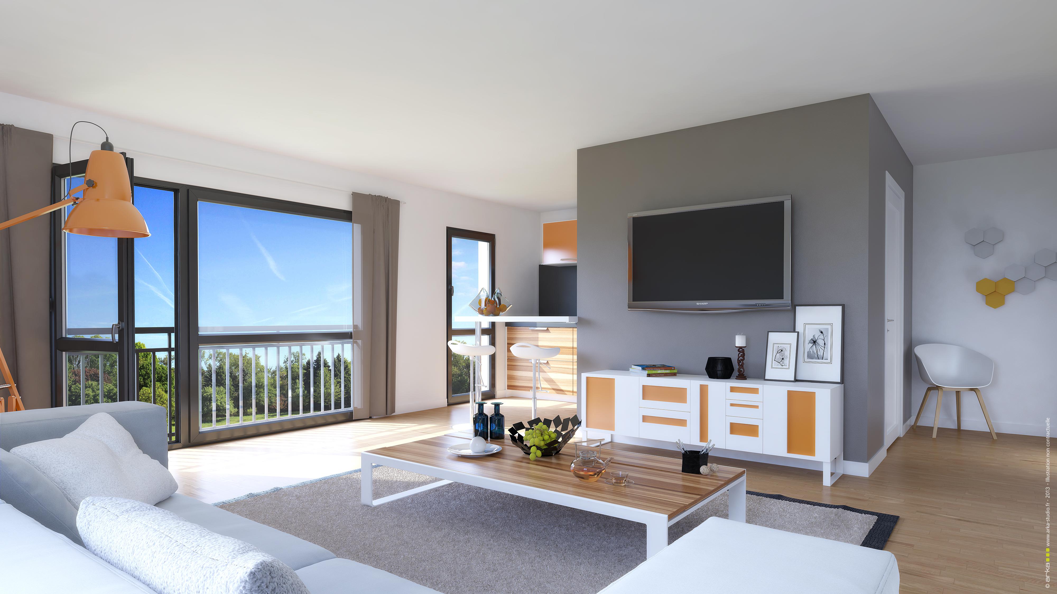 Votre appartement neuf à Besançon dans le programme Villa Scala