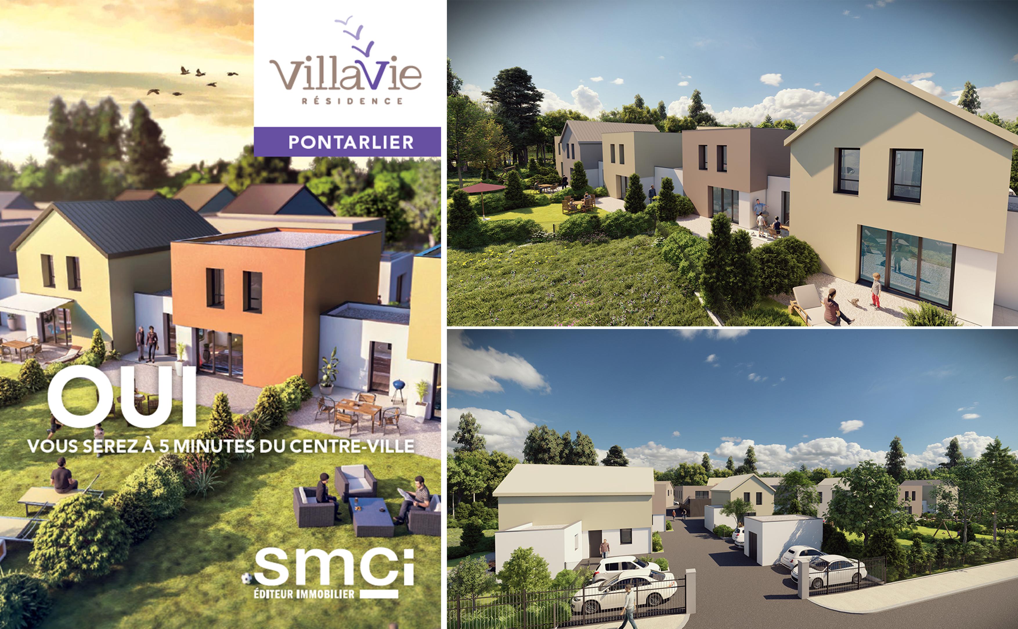 VILLAVIE programme immobilier neuf Pontarlier