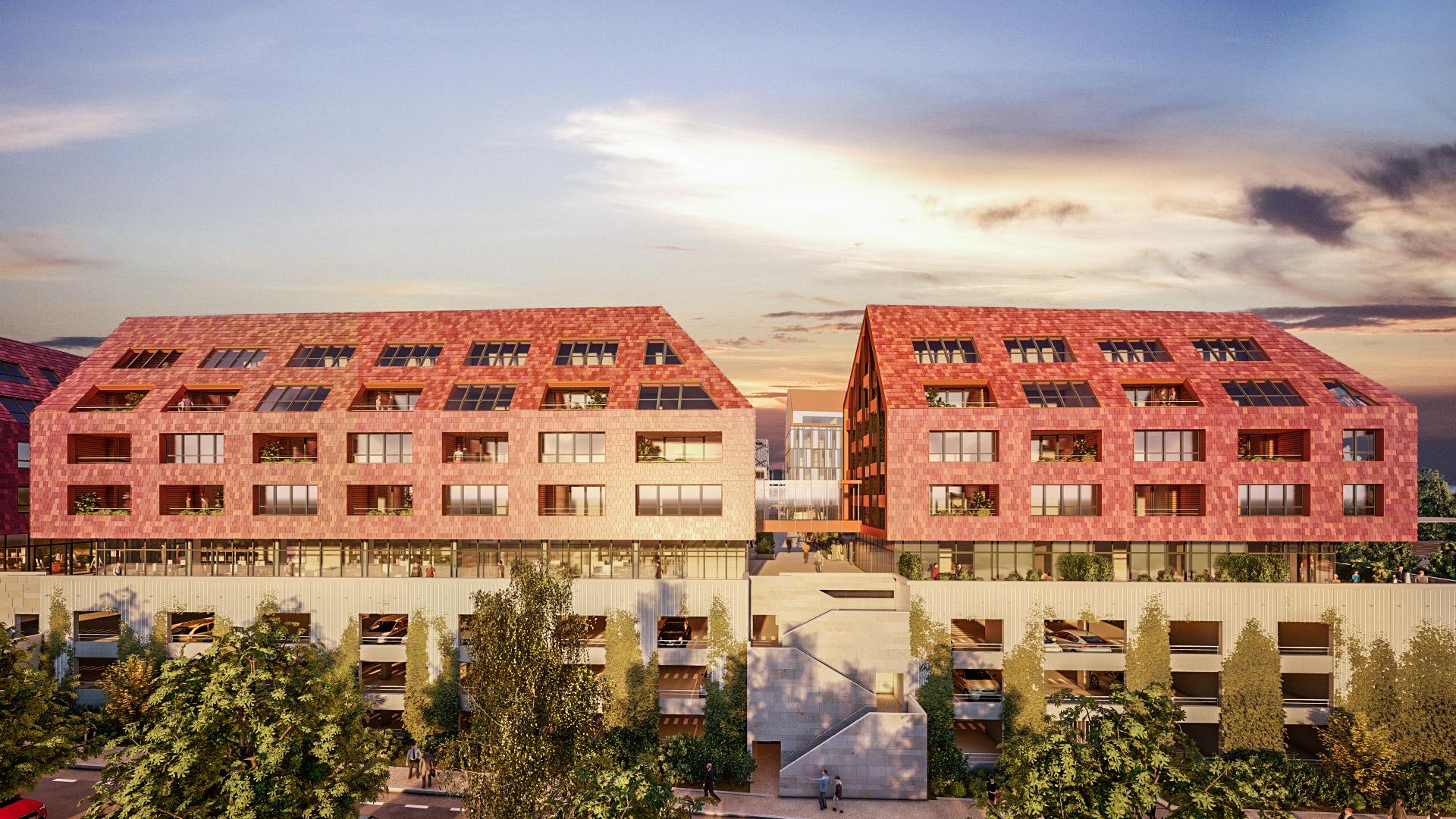 Appartement neuf à Besançon Résidence Génius
