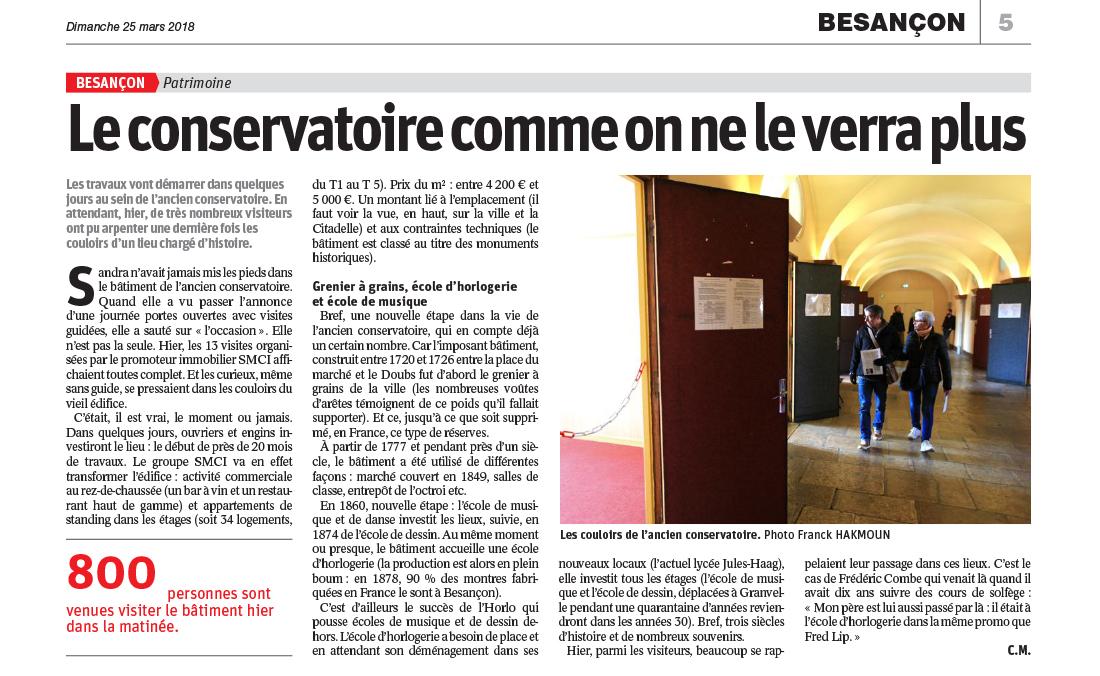 Journée Portes Ouvertes Conservatoire Est Républicain