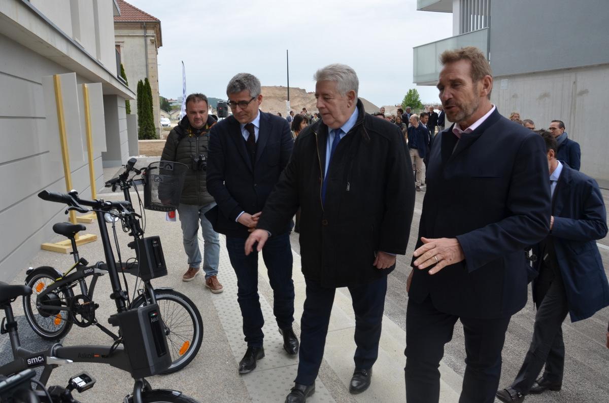 Résidence Vauban SMCI : des vélos électriques ont été mis en place pour les résidents
