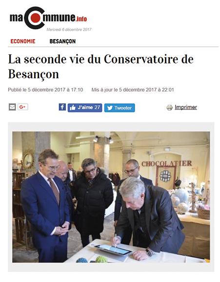 La seconde vie du Conservatoire de Besançon