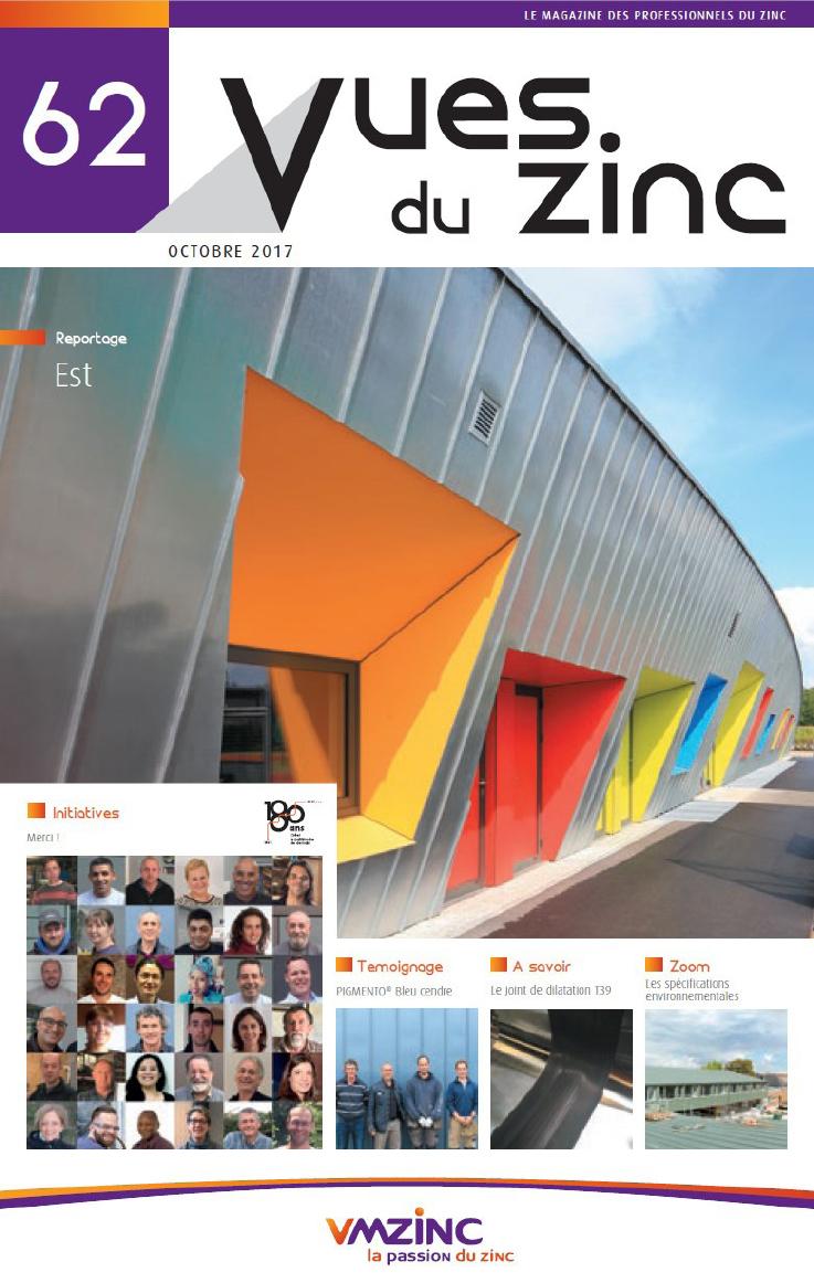 Magazine Vues du zinc Octobre 2017