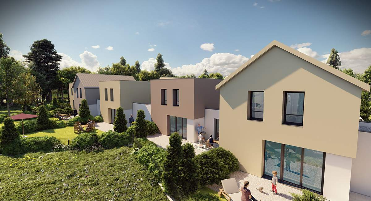 maison T5 neuve à vendre à Pontarlier