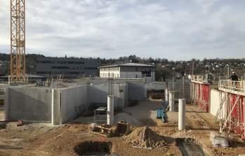 Chantier à Témis : 2000m2 de bureaux en construction