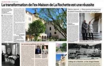 Article : La transformation de l'Abbaye de la Rochette