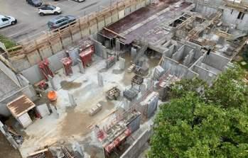 A Genas, les travaux de la résidence Marianne se poursuivent