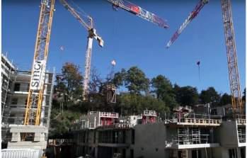 Travaux de construction de la Résidence Oh Saint-Rambert