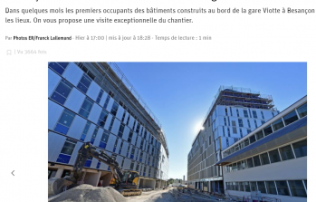 Article/ Visite du chantier Viotte en images