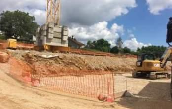 Quelques images du chantier : Quartier O2 tranche 2