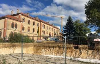 Vue du chantier de la future résidence Parc Vauban