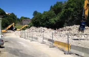 La démolition sur le site de Saint-Rambert prend fin