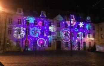 La façade du Conservatoire s'illumine pour les fêtes !