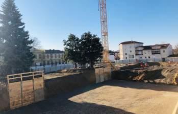 Les travaux de la résidence Marianne à Genas se poursuivent